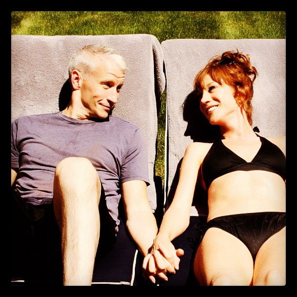 Anderson Cooper and Kathy Griffin. Thunder buddies for life! <3
