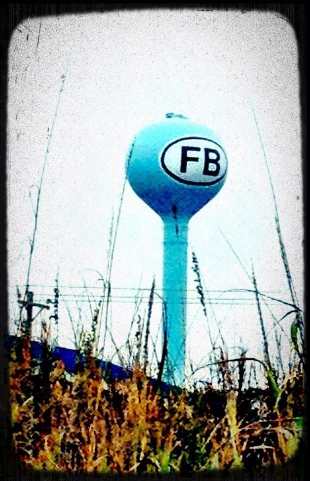 Folly Beach water tower. :)