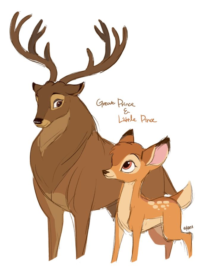 Bambi II - Father and Son by ~area32 on deviantART