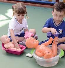 Resultado de imagem para higiene pessoal infantil