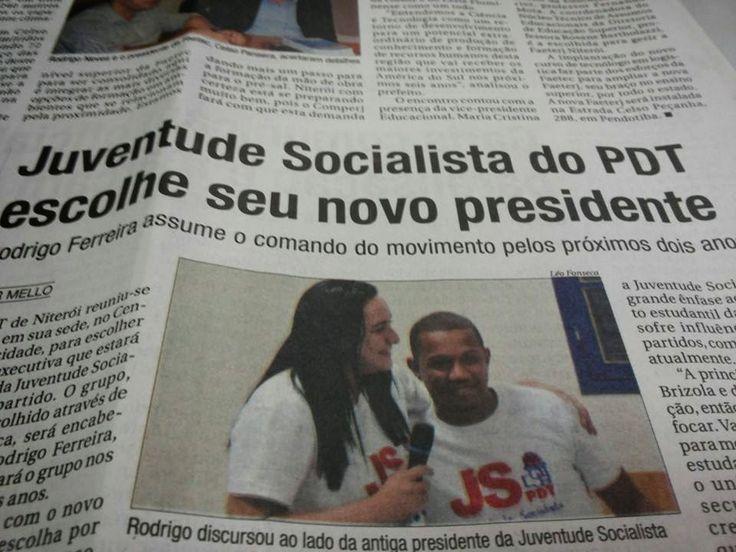 Juventude Socialista do PDT: JS NITERÓI ELEGE NOVA DIREÇÃO!