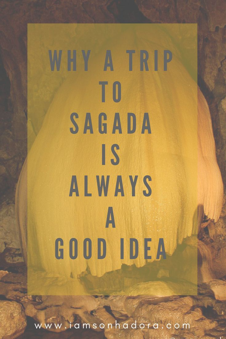 Why you should visit Sagada now