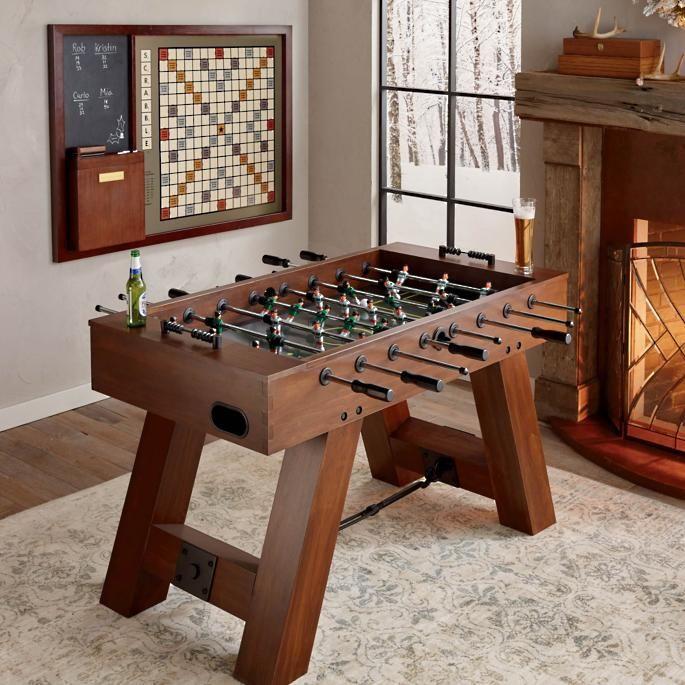 Savannah Foosball Table Game Room Furniture Shuffleboard Table