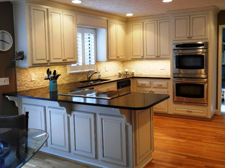 Elegant Kitchen Captivating How To Refinish Kitchen Cabinets From Kitchen Cabinet  Refinishing Kit Awesome Ideas