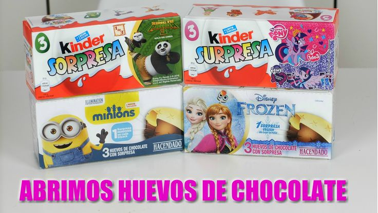Abrimos huevos de chocolate kinder Kung Fu Panda, My Little Pony, Minions, Frozen - Open chocolate eggs https://mamadenoa.blogspot.com.es/2016/05/abrimos-huevos-chocolate-vblog-unboxing-open-chocolate-eggs.html #unboxing #chocolate #chocolateegg #frozenegg #minionsegg #kungfupandaegg #mylitteponyegg #minions #kungfupanda #frozen #mylittlepony #mamadenoa #mamasblogueras