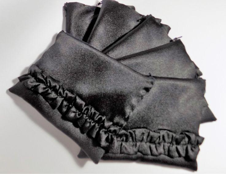 Pochette e borsette da sera ,set pochette di 6 pezzi,pochette,borsetta da sera,borsa piccola,pochetta nunziale,pochetta nera,borsa chic di MAQUELLA su Etsy