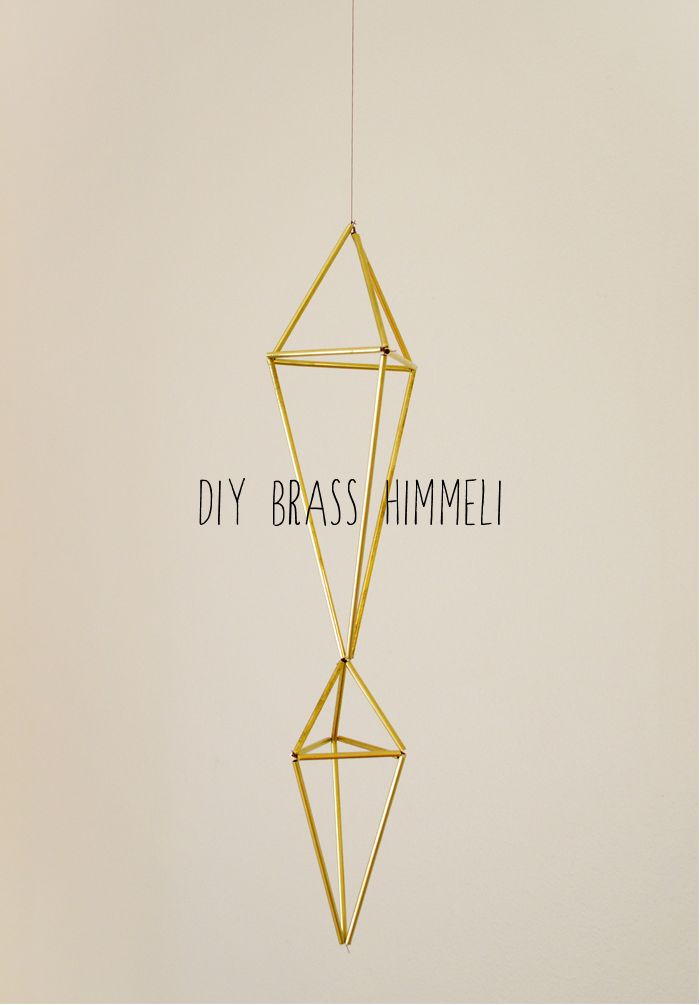 swoon studio: DIY Brass Himmeli
