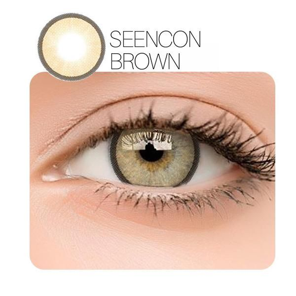 0e7bb8fe65 Seencon 2nd 6 Colors (12 Month) Contact Lenses - StunningLens