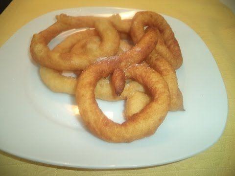 Los mejores churros Malagueños caseros - YouTube