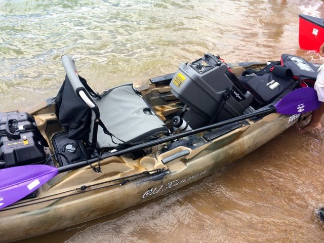 The Predator XL Kyack. Built and designed to bridge the gap between kayaks and bass boats this exceptional game changer goes on sale November 2014. Currently the buzz word in the Kayak fishing community it's arrival is eagerly anticipated and have a glance at below to see why