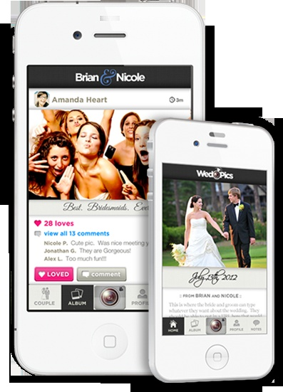 A great phone app that allows your guests to send the photos they take at your wedding festivities to an online album for you to share with everyone. Great idea!  http://ncweddingministerblog.blogspot.com/2012/10/wed-pics-app-fun-way-for-your-guests-to.html