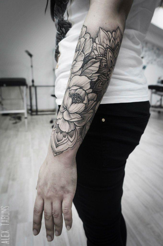 61 besten arm tattoo bilder auf pinterest mandala. Black Bedroom Furniture Sets. Home Design Ideas