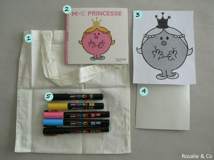 ★ DIY ★ Tote bag Monsieur Madame