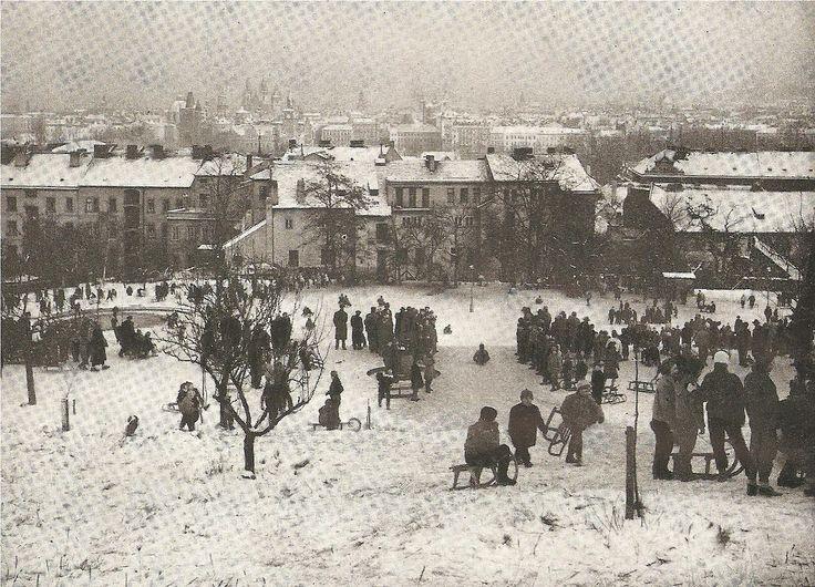 LOST AND FOUND IN PRAGUE   Winter Prague in mid 60's: M.Hild vs Z.Voženílek