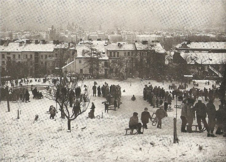 LOST AND FOUND IN PRAGUE | Winter Prague in mid 60's: M.Hild vs Z.Voženílek