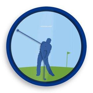 Reloj de pared Golfista / Golfer Wall Clock · Tienda de Regalos originales UniversOriginal