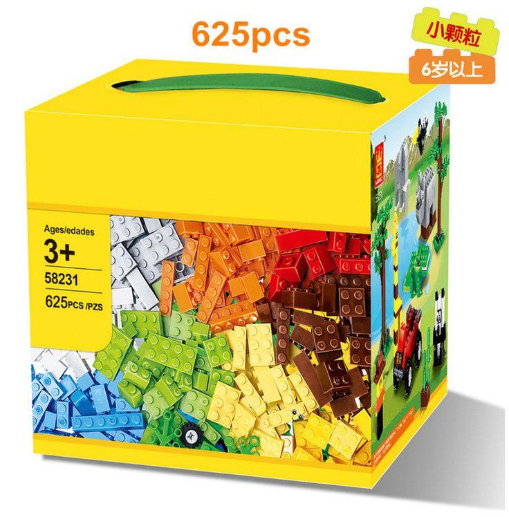 Aiboully 58231 blok bangunan 625 pcs diy kreatif hadiah batu bata bata mainan untuk anak-anak mainan pendidikan kompatibel brinquedos