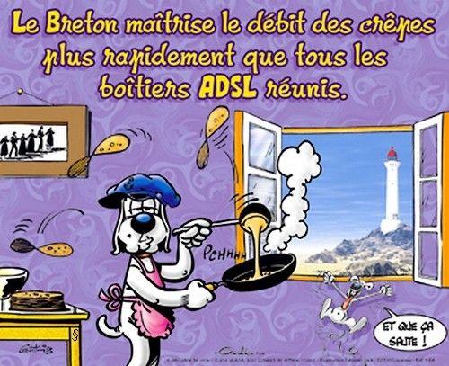 Humour Breton - chandeleur crepes