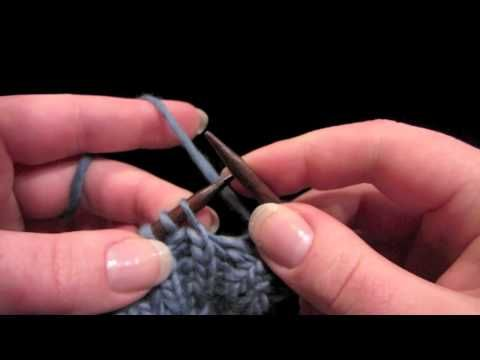 KNITFreedom - How To Do The Stretchy Yarnover Bind-Off - YouTube
