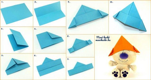 Papírcsákó és papírhajó készítése - Kreatív ötletek gyerekeknek nyárra 4. rész - Manó kuckó