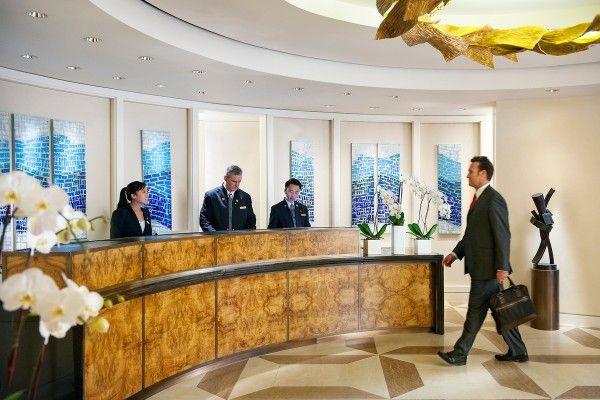 Mandarin Oriental San Francisco Hotel Interior Design by BAMO