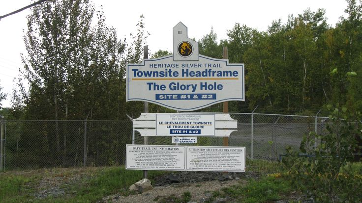 The Townsite headframe also survives, and is part of the Heritage Silver Trail walking tour.
