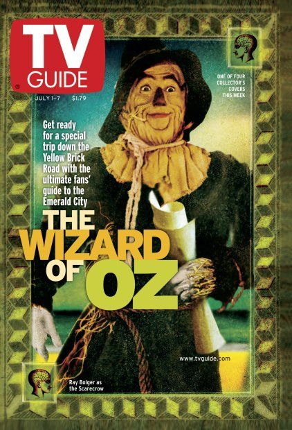July 1, 2000 TV Guide 1 of 4 Collector's Covers: The Wizard of Oz <3 my dad bought me all of these and still have them!