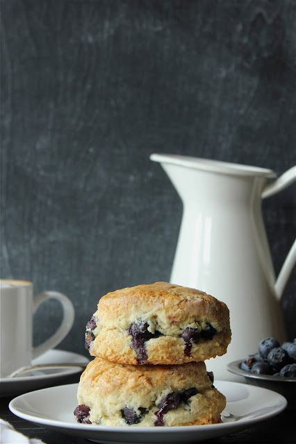 Almond Blueberry Scones | Breakfast | Pinterest