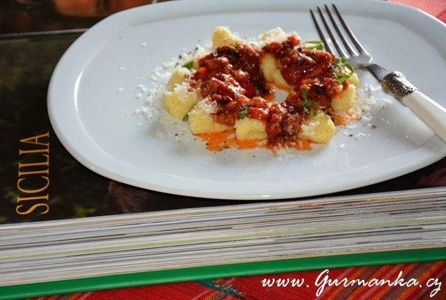 Bramborové noky po sicilsku – Gnocchi alla siciliana