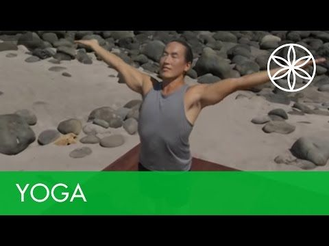 Yoga For Beginners Morning with Rodney Yee | Yoga | Gaiam - YouTube