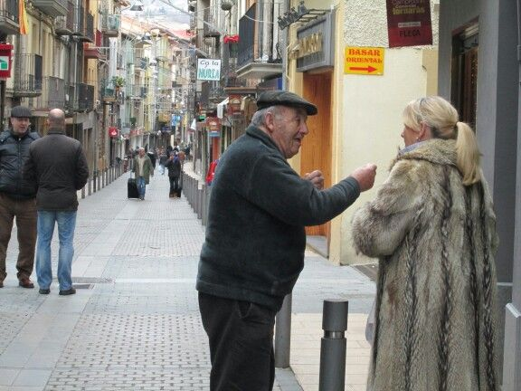 spain, camprodon - opportunity to wear your fur coat