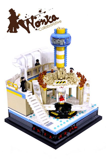 Wonka - The Nut Room Lego MOC by Max Pointner, via Flickr