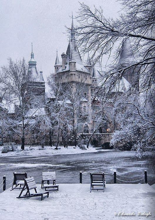 Castle of Vajdahunyad, Budapest - Hungary