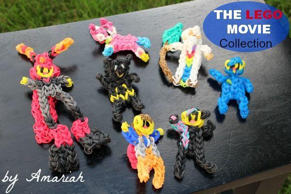 The LEGO Movie, Rainbow Loom Figures