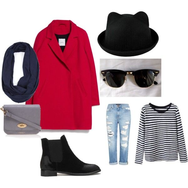 11 by smail-2033 on Polyvore featuring мода, MANGO, Genetic Denim, Carvela Kurt Geiger and Ray-Ban