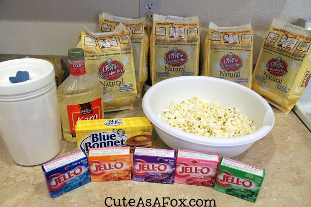 Cute As a Fox: Monster Jello Popcorn