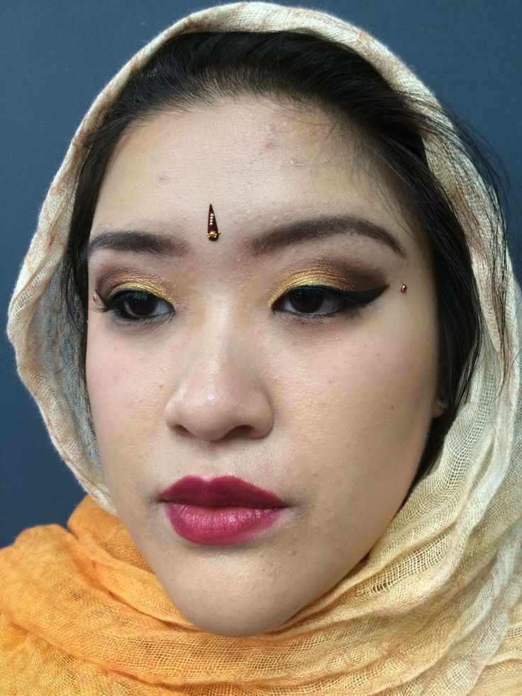 Indian wedding makeup Follow me on these websites for more  Instagram artist2222 Deviantart lunamoon22  Ifunny karkar2222