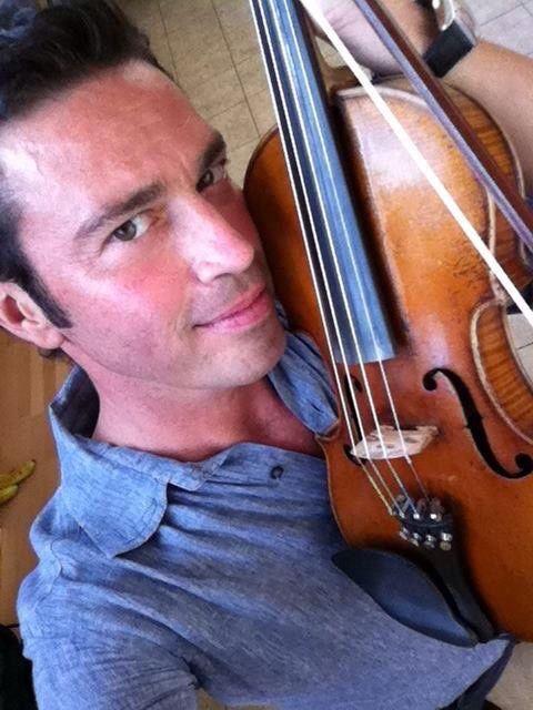 Mario Frangoulis, the violinist
