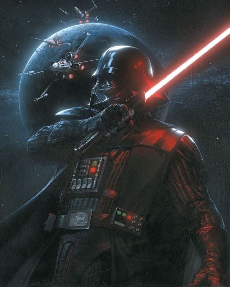 Darth Vader!! Art by Gabrielle Dell'Otto