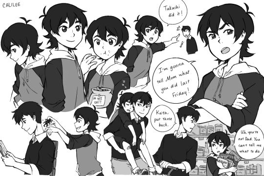 Keith & Shiro as adoptive brothers headcanon is PERFECTION