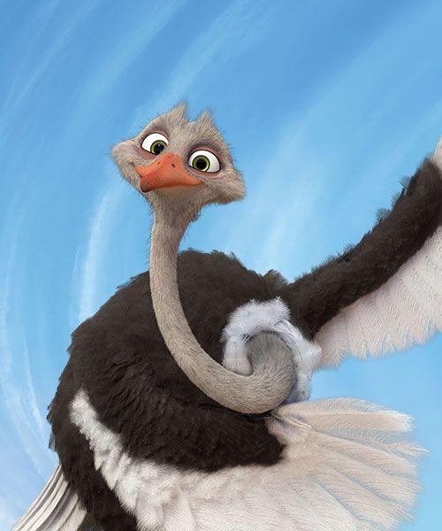 Bradley Voiced By Richard E Grant Khumba Khumba