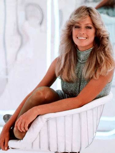 Farrah Fawcett    The 1970s were known for voluminous hair, and no one popularized the long-layered shag more than Farrah Fawcett. The feathered hairstyle she made famous on the hit '70s show Charlie's Angels remains one of the most iconic of all time. Many of today's celebrities have given this sexy, full-bodied style a modern interpretation, including Beyonce, Madonna, Alicia Keys, and Heidi Klum.