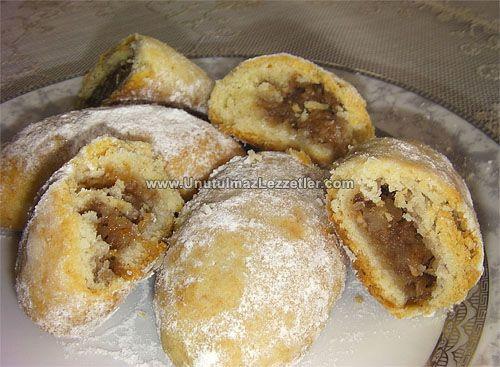 Elmalı Kurabiye   Dessert & Sweets (Tatlılar)   Pinterest
