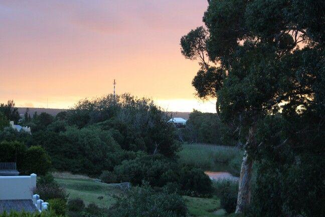 Stanford River sunset
