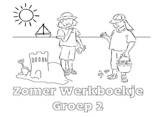 Zomer Werkboekje Groep 2