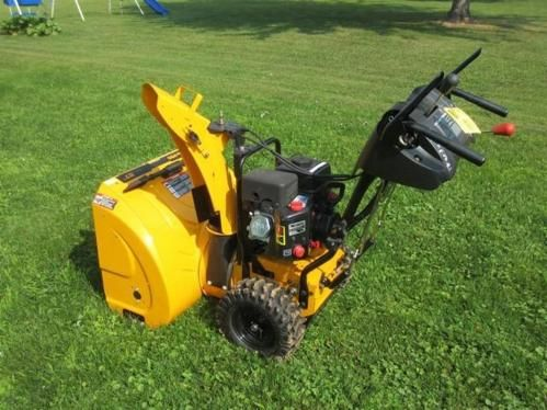 "Poulan Pro 27"" Snow Blower. ONLINE ONLY AUCTION - Ending Tuesday, August 19, 2014. Barron, Wisconsin."