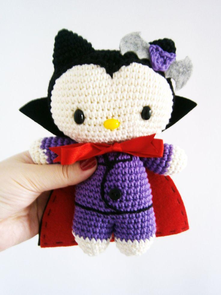 Mini Hello Kitty Amigurumi : 17 Best images about Crpchet >> Hello Kitty on Pinterest ...
