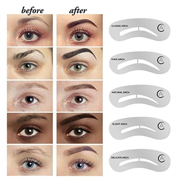 25 best ideas about eyebrow stencil on pinterest brow for Eyebrow templates printable