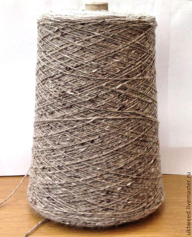Купить Мохер Твид (Mohair Tweed) 70% шерсть, 30% мохер - бежевый, пряжа