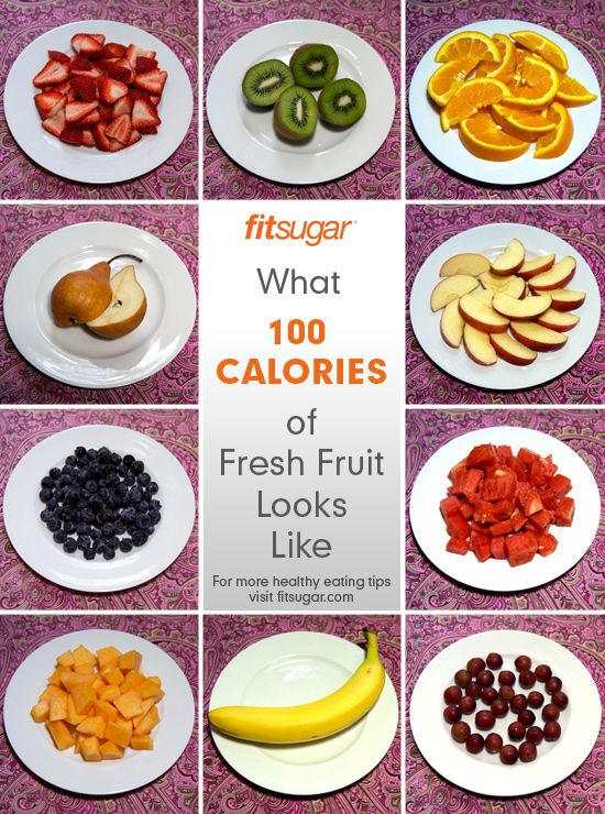 100-Calorie Portions of Fruit